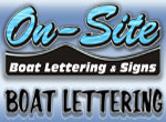 Get your boat lettered by On-Site Wilmington